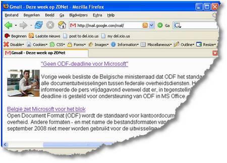 Deze week op ZDNet - ODF deadline en toch niet