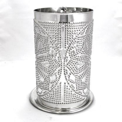 Side of Candle Shade Lotus Mandala