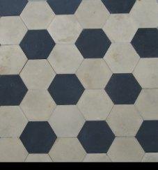 Piastrelle esagonali antiche  Pannelli termoisolanti
