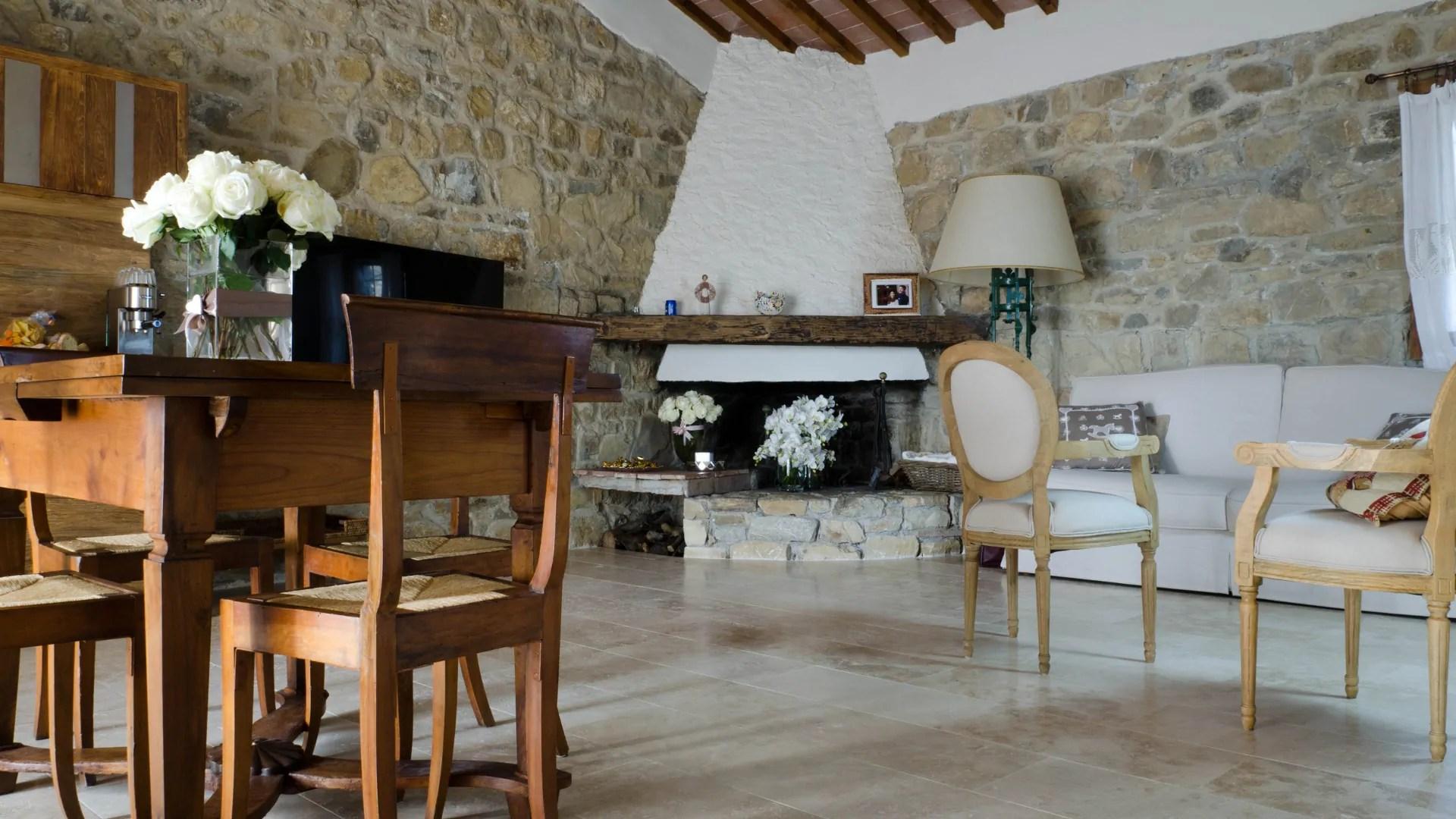Consente la completa abitabilità degli ambienti interni ed esterni,. Project Of Farmhouse In The Tuscan Countryside Pietre Di Rapolano