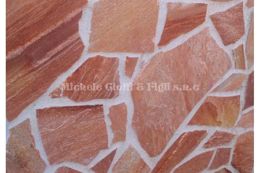 Quarzite Rosa Oriente  Mosaico Brasiliano