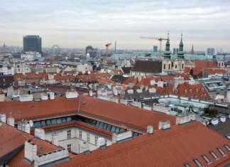 panorama citta vienna