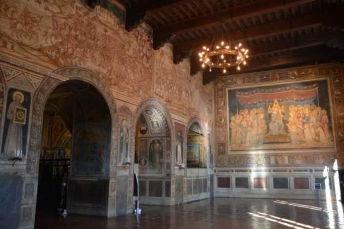 sala mappamondo museo civico