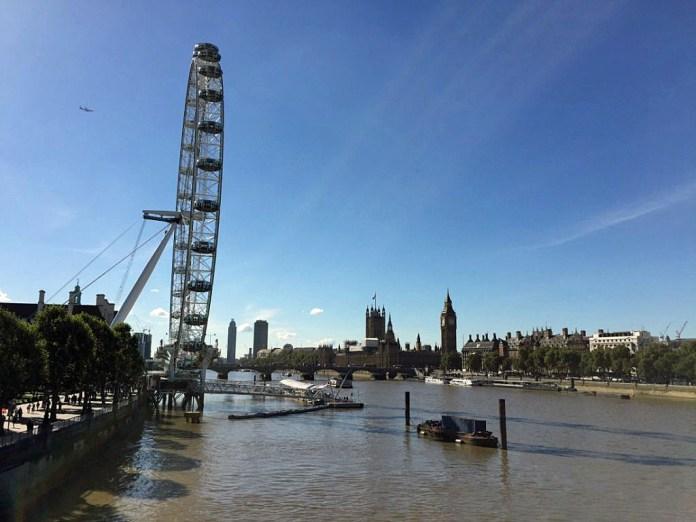 london eye ruota