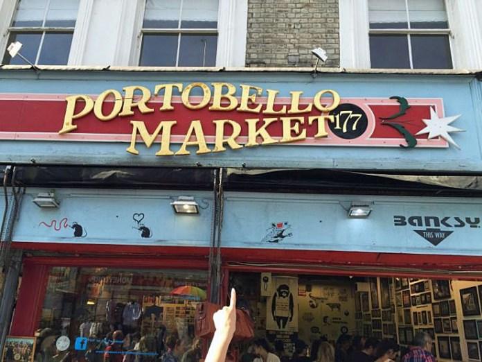 portobello mercato londra