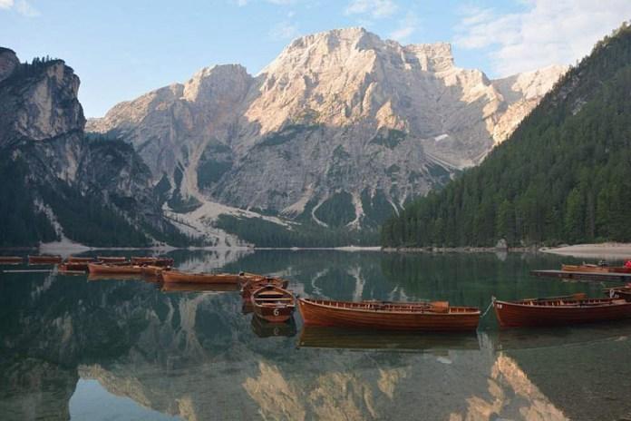 lago braies alto adige