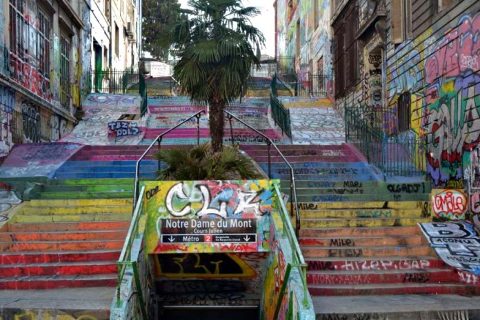cours julien escaliers