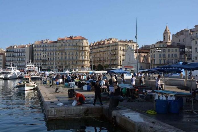 mercato pesce vieux port