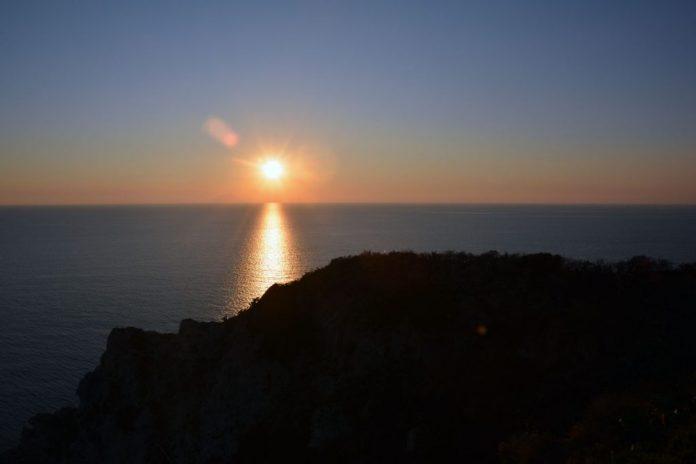 tramonto capo vaticano ricadi