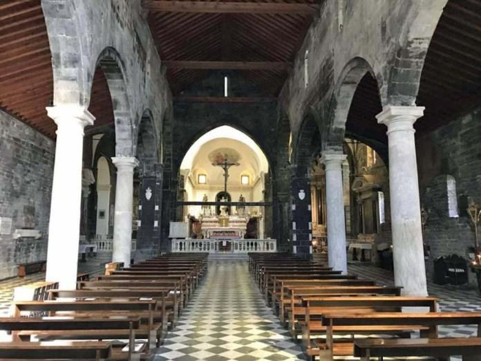portovenere chiesa san lorenzo