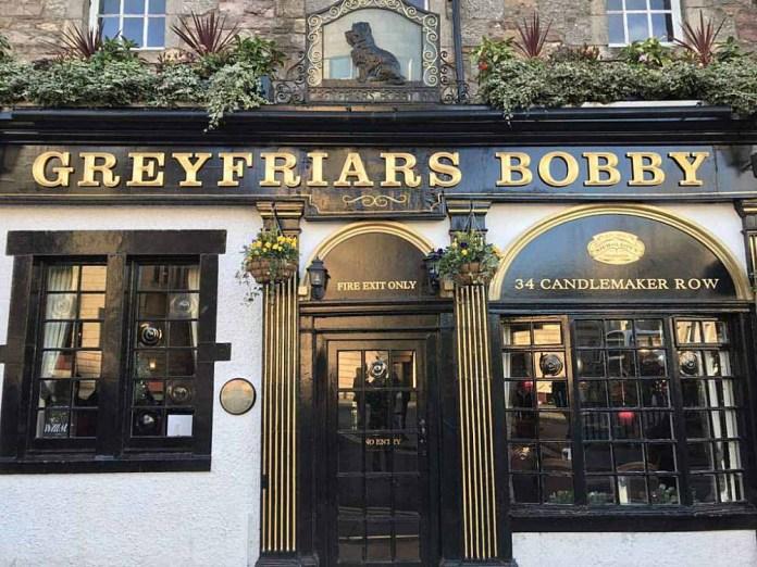 greyfriars bobby pub edimburgo