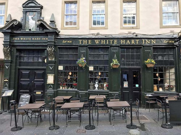 the white hart inn edimburgo