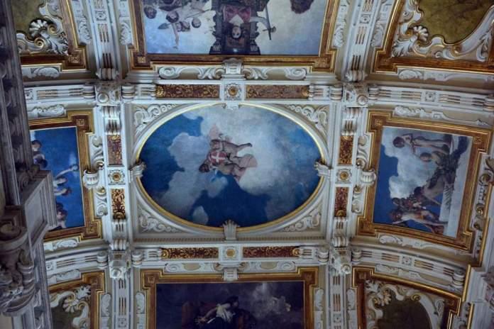 palazzo balbi raggio soffitto
