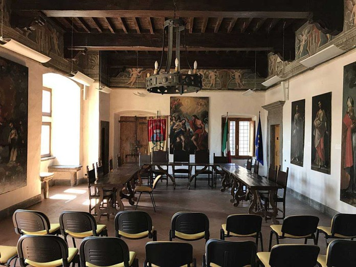 sala consiglio municipio