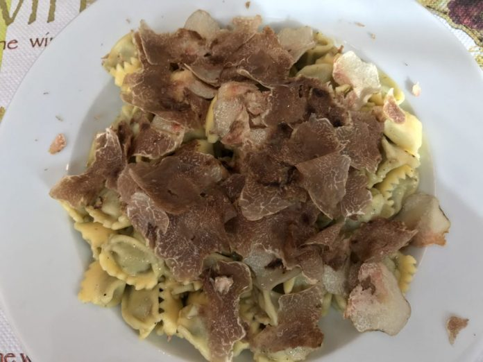ravioli tartufo