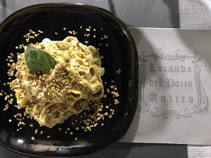 fettuccine pistacchi