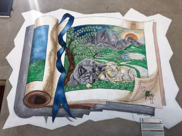 murales montelupo albese