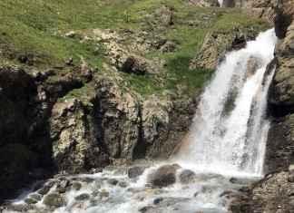 escursioni val di rhemes cascata
