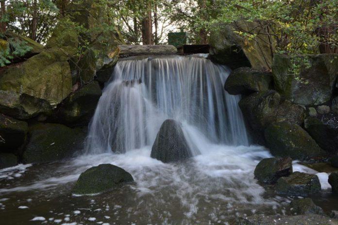 cascata giardino