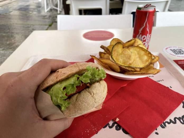 agrihamburgeria mbun torino pranzo