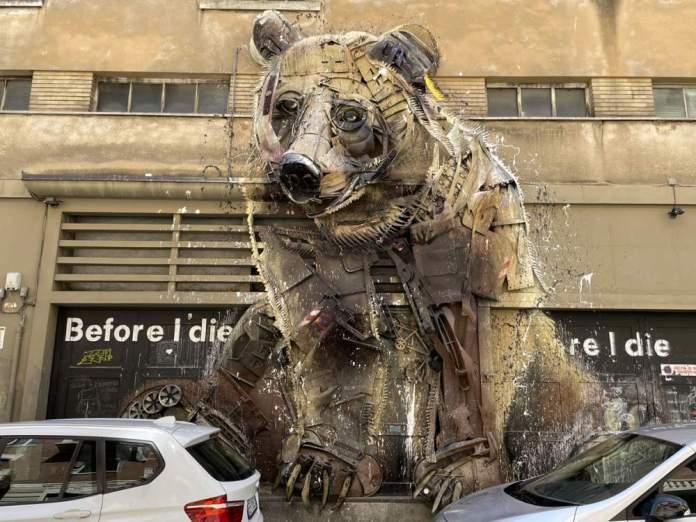 street art graffiti san salvario