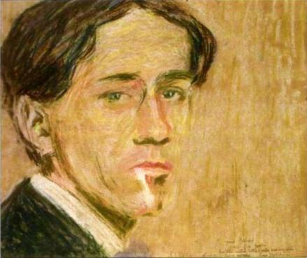 Severini, Autoritratto, 1908