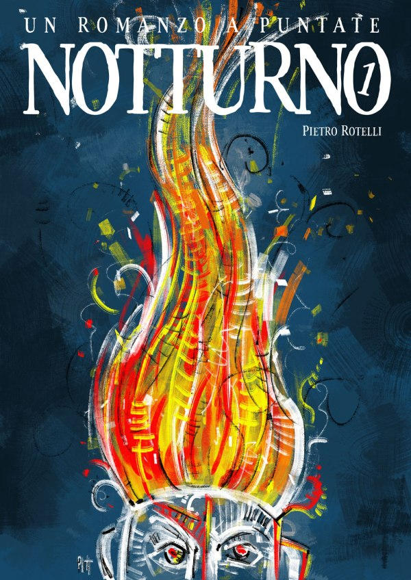 Copertina del primo numero di Notturno.