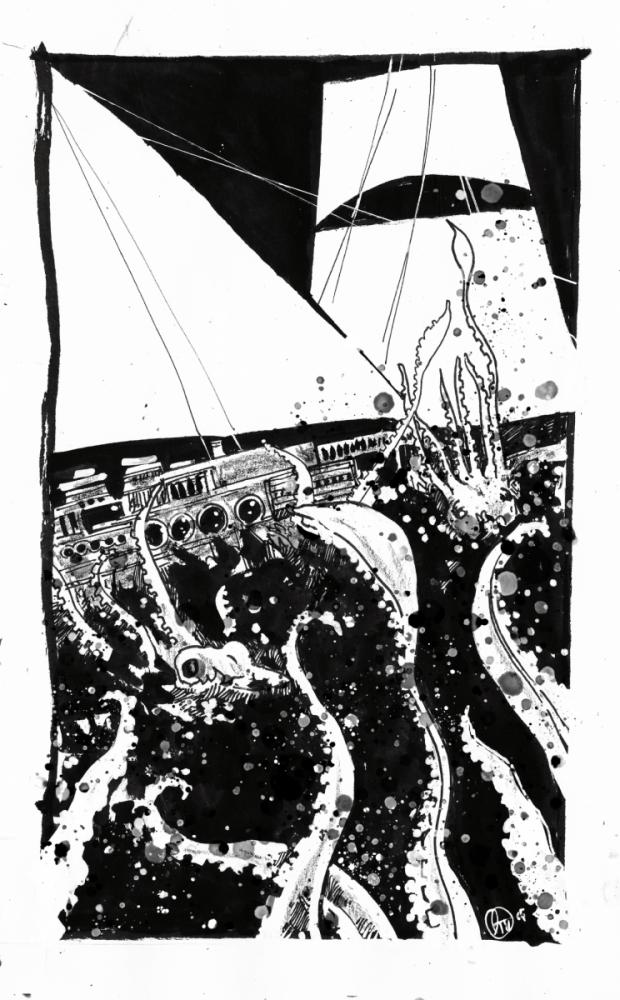 navi e piovre