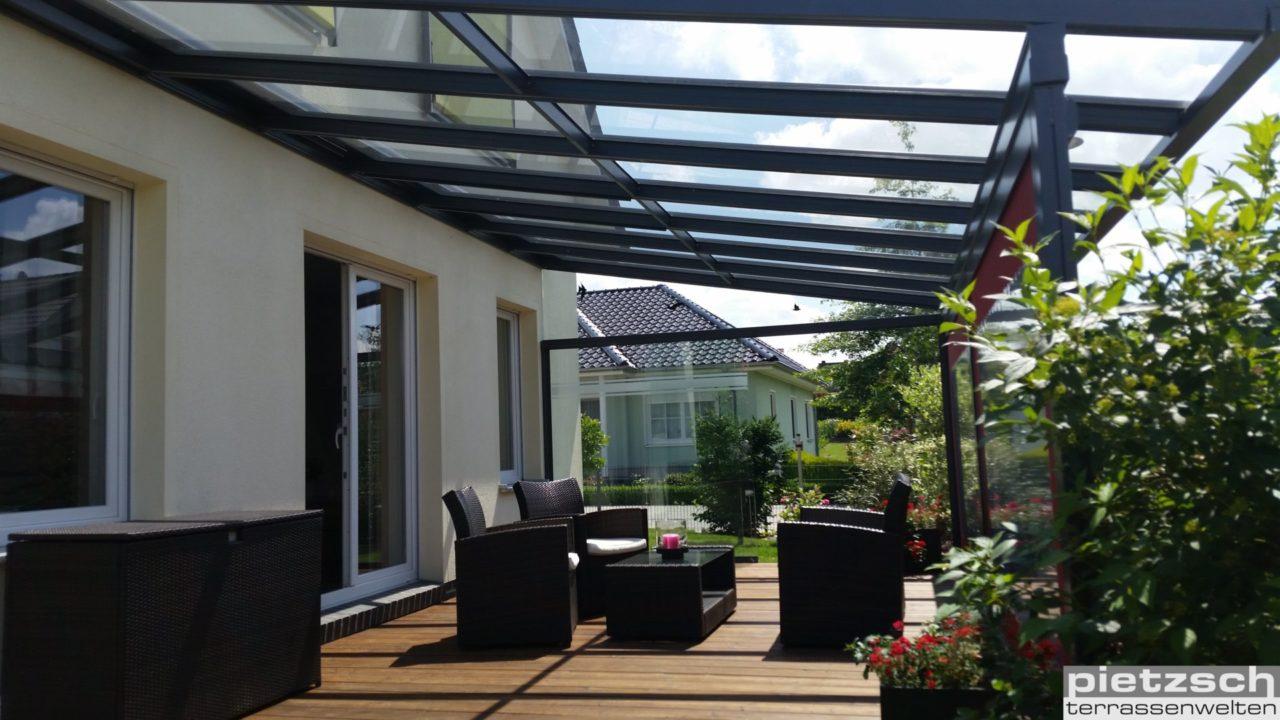 Klaiber Terrassenuberdachung Und Vordacher Aus Glas Und Aluminimum
