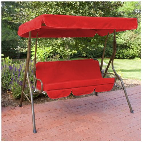 Water Resistant Swing Seat Bench Cushion for Garden