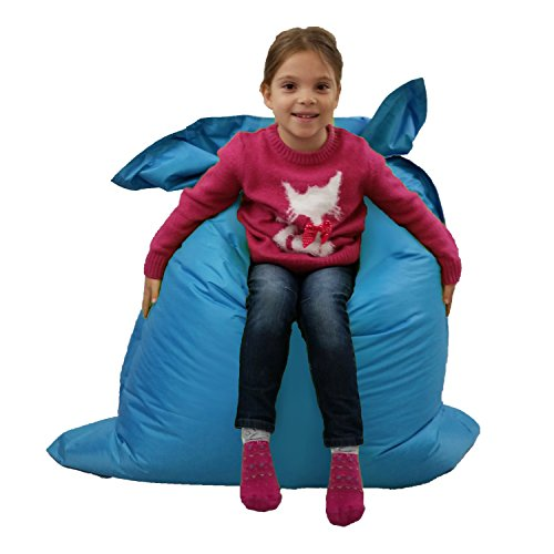 affordable bean bag chairs white modern office chair kids beanbag large 6-way garden lounger – giant childrens bags outdoor floor cushion teal ...