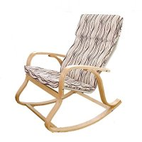 SoBuy Comfortable Relax Chair Rocking Chair, Lounge Chair ...