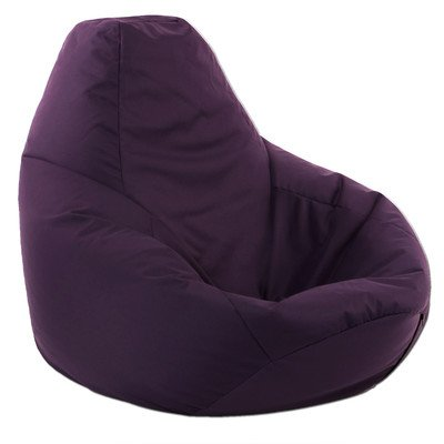best bean bag chairs for gaming where can i rent chair covers near me xx-l purple highback beanbag water resistant bags indoor and outdoor use, great ...