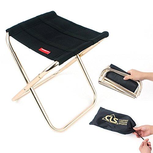 Sunbeter Mini Folding Camping Stool Lightweight Portable