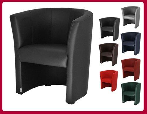 fauteuils cabriolet en simili cuir noir w042 01