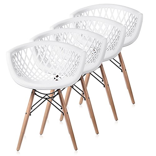 makika chaise de design siege de bureau salle a manger salon style rembourree avec pieds bois moderne unique scandinave ensemble de chaises sara