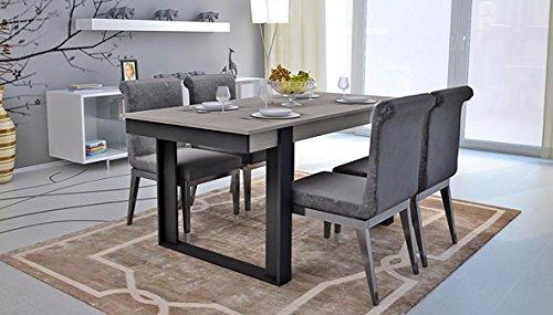 maisondesign fr table a manger extensible loft 180 220 cm