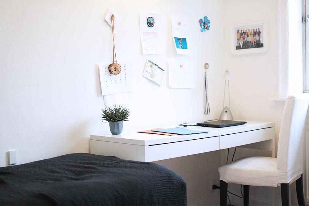 boliglykke minimalistisk børneværelse