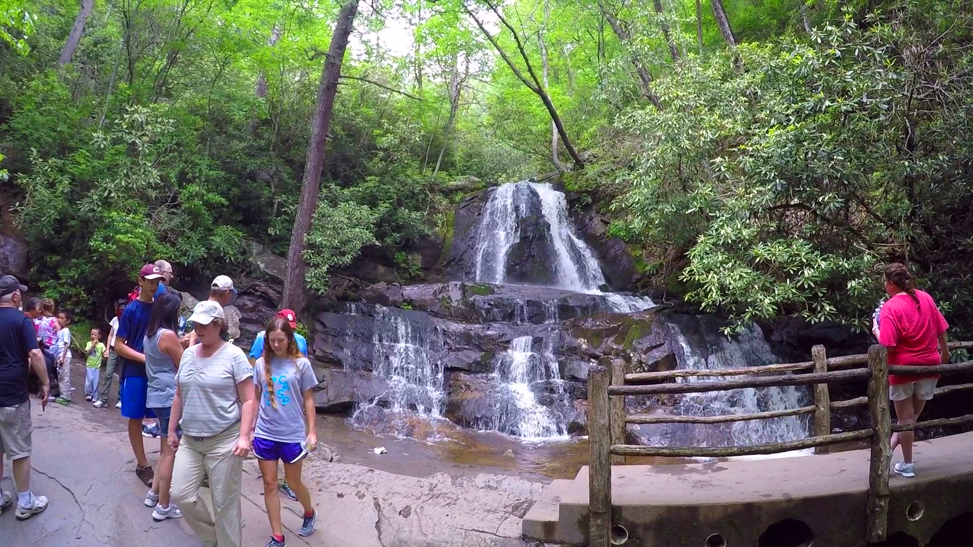The trail actually bisects the upper and lower section of the falls, so be sure. 5 Smoky Mountain Trails That Are Perfect For Family Hikesthe Official Pigeon Forge Chamber Of Commerce