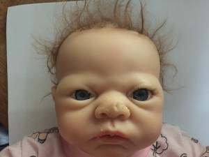 Face of Baby: the original creepy doll