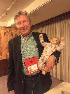 F Paul Wilson with Baby