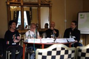 Fantasycon panel: Heide Goody, Duncan Bradshaw, Richard Webb, Justin Anderson