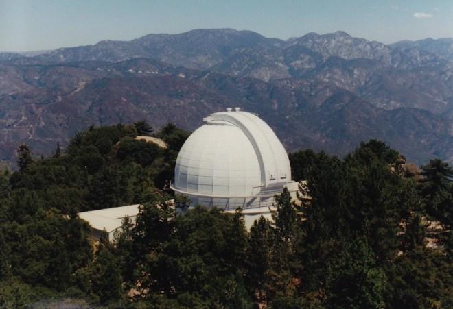 Mt. Wilson 100-inch telescope. Credit: Gregory Pijanowski
