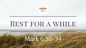 Daily Bread Gospel Mark 6:30-34