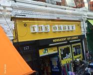 Very stylish shop sign for a newsagents....is that a rude comment?
