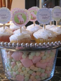 Baby Shower Marshmallow Cake Ideas and Designs