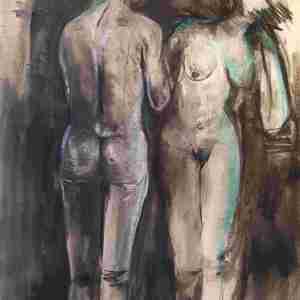 """""""Adam und Eva im Schattenlicht"""""""
