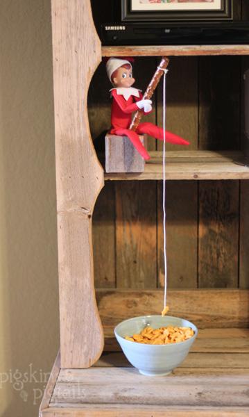 25 Elf on the Shelf Ideas  Pigskins  Pigtails