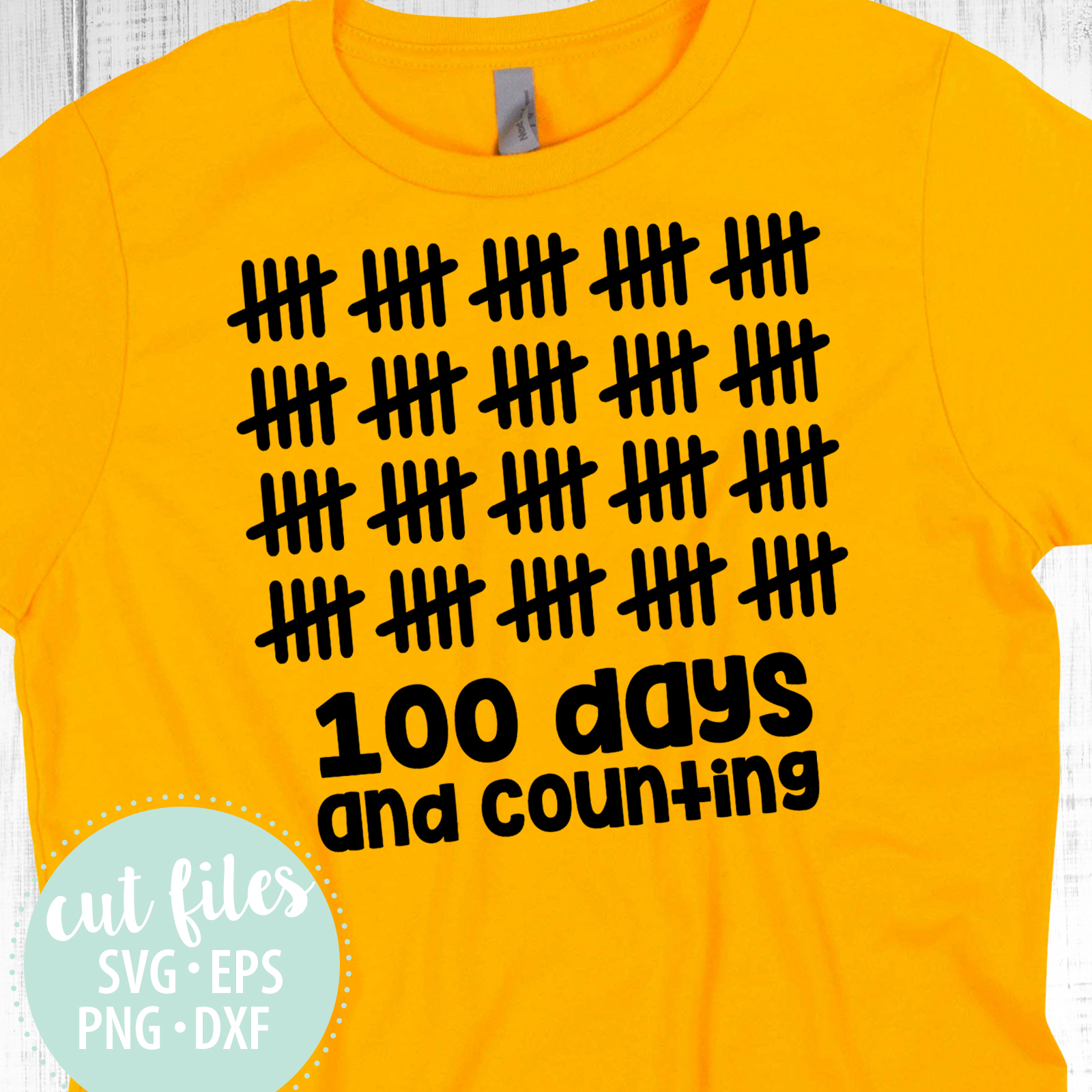 100 Days And Counting Design