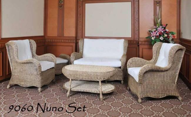 Cirebon Rattan Living Room Set Indonesia Furniture